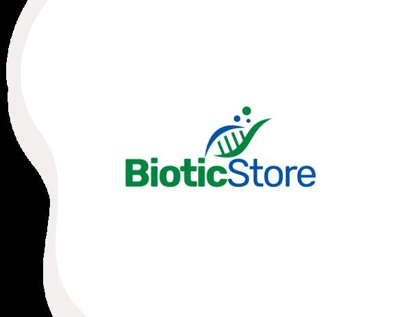 Biotic store business name logo